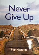Never Give Up - Book Frontcover